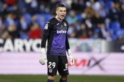 Голкіпер «Леганеса»: «Лунін вже готовий грати за «Реал»