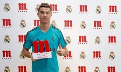 Роналду визнаний найкращим гравцем «Реала»  в грудні