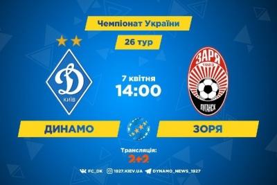 «Динамо» – «Зоря». Все про матч