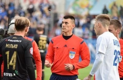 «Колос» поскаржився Павелку щодо скандальної червоної картки в матчі з «Динамо»