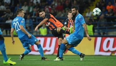 Букмекери оцінили шанси в матчі ЛЧ «Наполі» – «Шахтар»