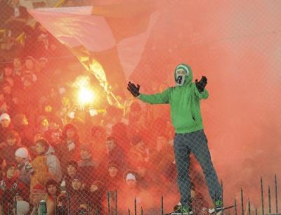 «Карпати» можуть покарати за расистські вигуки  фанатів у матчі з «Олімпіком»