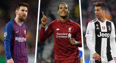 Аналітики букмекерської назвали, хто стане найкращим футболістом сезону за версією УЄФА