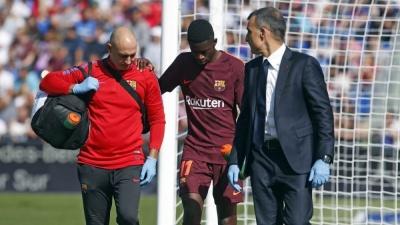 Усман Дембеле отримав травму у матчі проти «Хетафе»