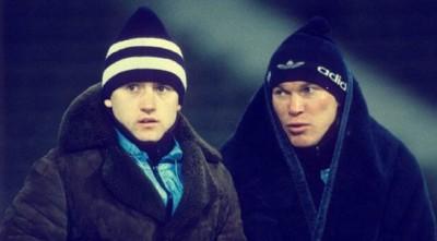 Золоті 80-ті: «Динамо» завдає подвійного удару, Лобановський із найкращим голкіпером світу і ще 28 фото «старої школи»
