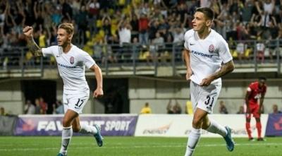 Русин набрал 6 очков по системе гол+пас в последних 6-ти матчах за «Зарю» и сборную Украины U-21