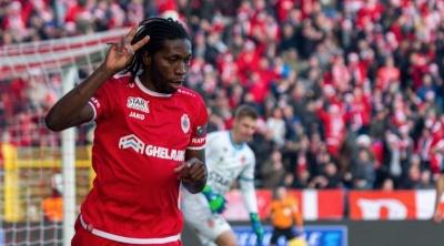 Гол Мбокані допоміг «Антверпену» перемогти в матчі чемпіонату Бельгії