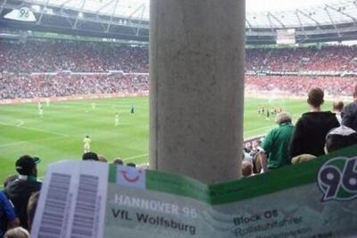 Найгірші місця для вболівальників на футбольних стадіонах