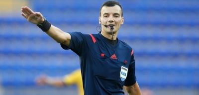 Українська бригада арбітрів відсудить матч Ліги Європи
