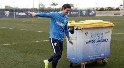 «Товстун Роналдо зараз в кращій формі, ніж Селезньов»: фанати «Малаги» кепкують над українцем, який неприємно дивує