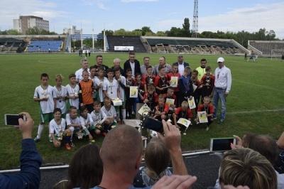 Сергій Сидорчук зустрівся з рівненськими дітьми у рамках «Кубка майбутніх чемпіонів»