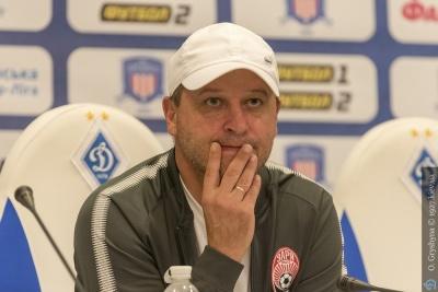 Вернидуб: «Я прийняв рішення покарати себе та гравців на 30% від зарплати після поразки від «Динамо»