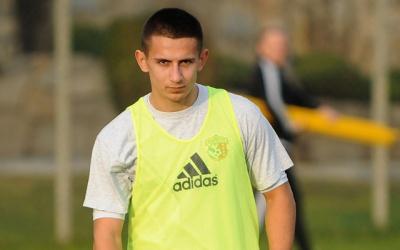 Хльобас відзначився голом у контрольному матчі «Ворскли»
