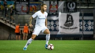 Леднев стал лучшим игроком «Зари» в августе