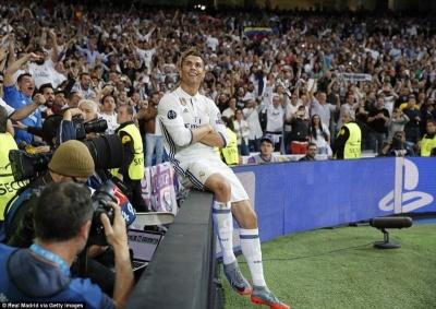 Усі хет-трики Кріштіану Роналду за збірну Португалії