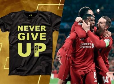 БК Parimatch подарит футболки игрокам, поставившим на точный счет в матче «Ливерпуль — Барселона»