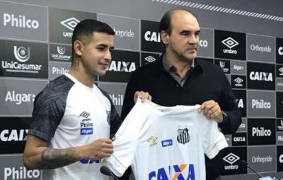 Дерліс Гонсалес поки в глибокому запасі «Сантоса»
