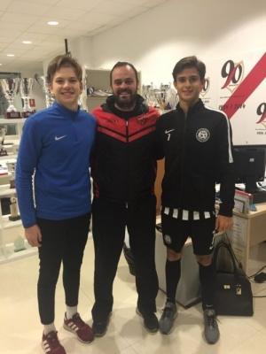 Два юных украинских футболиста будут играть в Испании