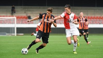 «Шахтар» провалив виступ у Юнацькій лізі УЄФА