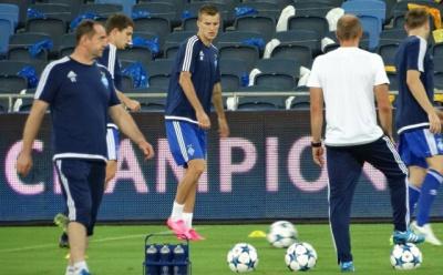 «Динамо» провело тренування в Ізраїлі перед матчем з «Маккабі». Фоторепортаж
