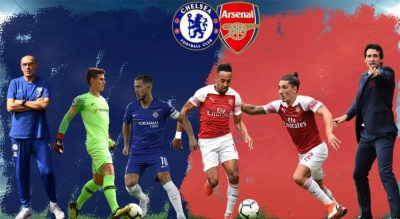 «Челсі» - «Арсенал»: стартові склади. ОНЛАЙН
