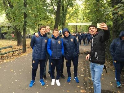 Як збірна України гуляла Краковом