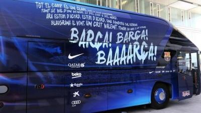 Фанати «Валенсії» напали на автобус із гравцями «Барселони»