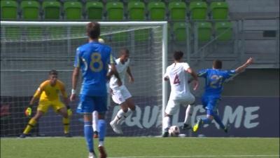 Збірна України U-19 розгромно поступається португальцям в півфіналі - 0:5