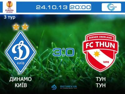«Динамо» - «Тун» - 3:0. Ексклюзивні фото з матчу