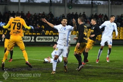 Комітет арбітрів ФФУ визнав лише один непризначений пенальті в матчі «Олександрія» - «Динамо» та схвалив вилучення Бєсєдіна