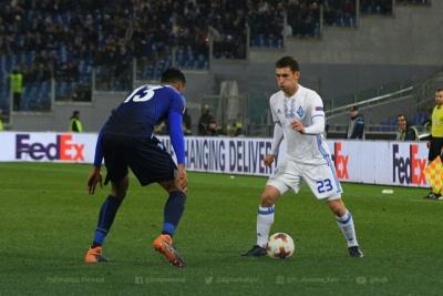 Букмекери зрівняли шанси «Динамо» і «Лаціо» на вихід до 1/4 фіналу ЛЄ