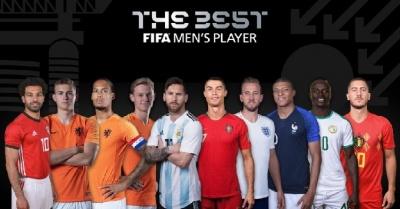 Роналду, Мессі, Мбаппе і ще 7 претендентів на звання гравця року ФІФА