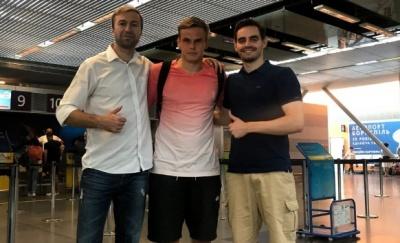 Максим Коваль: вже на зборах з новою командою, вже тренується