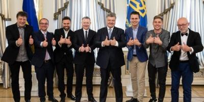 Петро Порошенко: «Ми зробили Євробачення, наступна мета - фінал Ліги чемпіонів»