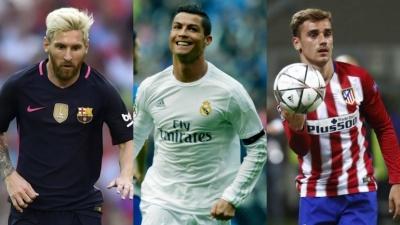 Яке б місце посіли «Атлетіко», «Барселона» та «Реал» в чемпіонаті Англії?