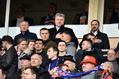 Петро Порошенко: «У матчі «Рома» – «Ліверпуль» серце боліло за суддівство»