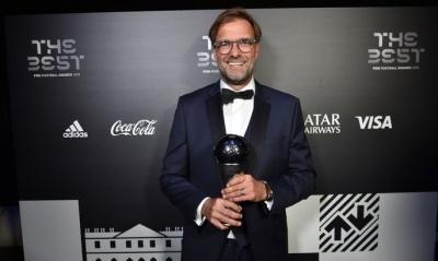 Юрген Клопп – найкращий тренер року за версією FIFA