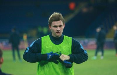 Калітвінцев забиває дебютний гол за «Зорю»