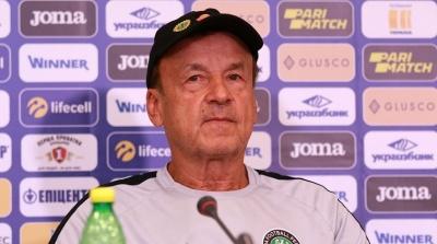 Предматчевая пресс-конференция главного тренера сборной Нигерии
