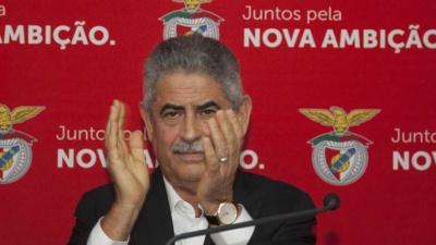 Президент «Бенфіки» відсторонений від футболу на два місяці