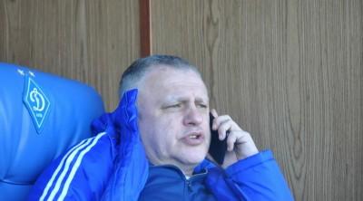 Игорь Суркис после встречи с Луческу: «Все нормально. Есть у «Динамо» тренер»