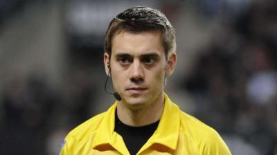 Про арбітра матчу «Бенфіка» - «Динамо». Наймолодший на Євро
