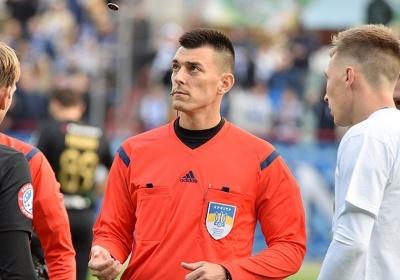 Арбітр скандального матчу «Колос» – «Динамо» призначений на матч Першої ліги