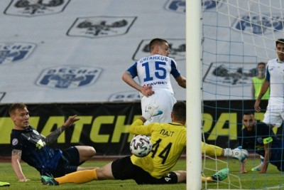 Третій дубль Циганкова та перший у матчах між «Динамо» та «Десною»