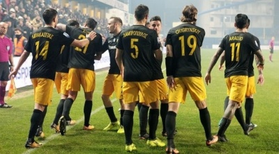 У стані суперника: АЕК розгромив «Панетолікос»  та вийшов на перше місце чемпіонату Греції