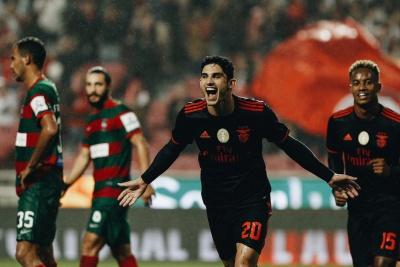 «Бенфіка» знищила суперника в 1/16 фіналу Кубку Португалії