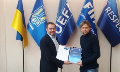 Тимощук отримав тренерський PRO-диплом УЄФА