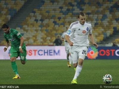 Найкращим гравцем «Динамо» у матчі з «Карпатами» став Олег Гусев