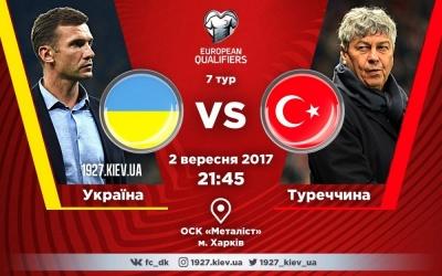 Україна – Туреччина. Все про матч