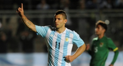 Серхіо Агуеро вийшов на третє місце за кількістю голів за збірну Аргентини